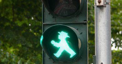 ampelmann i semafori di berlino