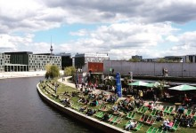 Capital Beach: dove godersi il sole a Berlino