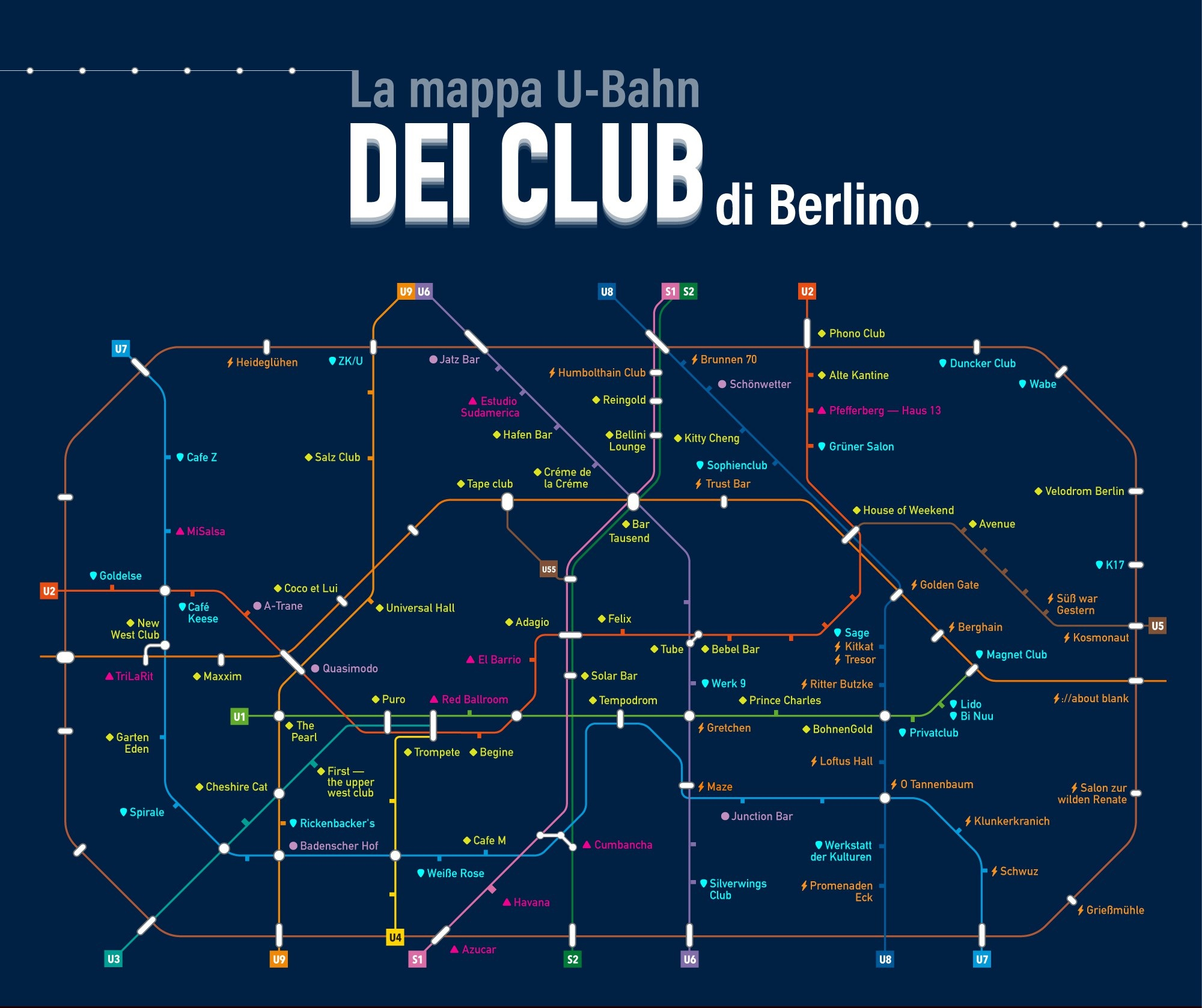 mappa metro locali berlino