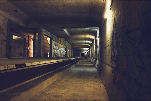 metropolitana fantasma di berlino