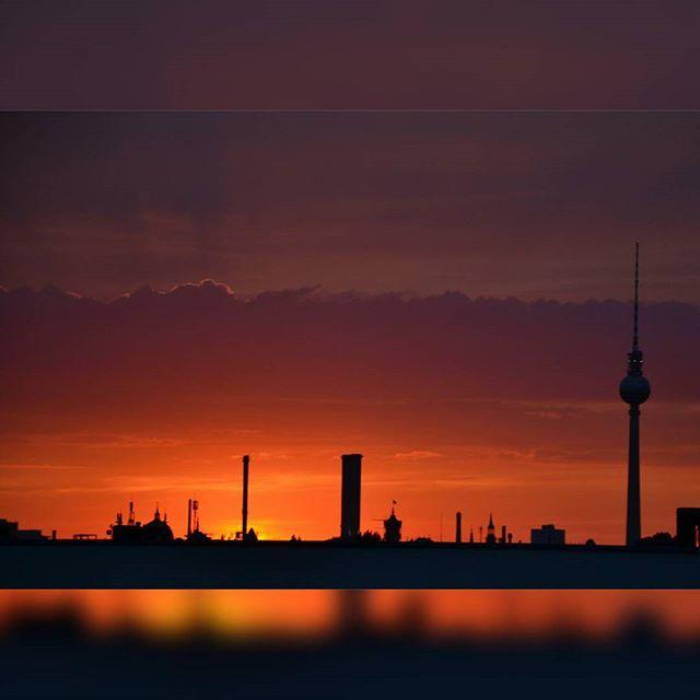 foto berlino tramonto