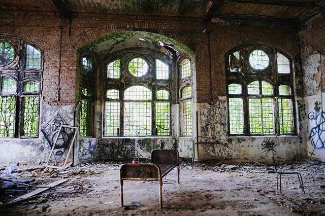 I fantasmi della Beelitz Heilstätten