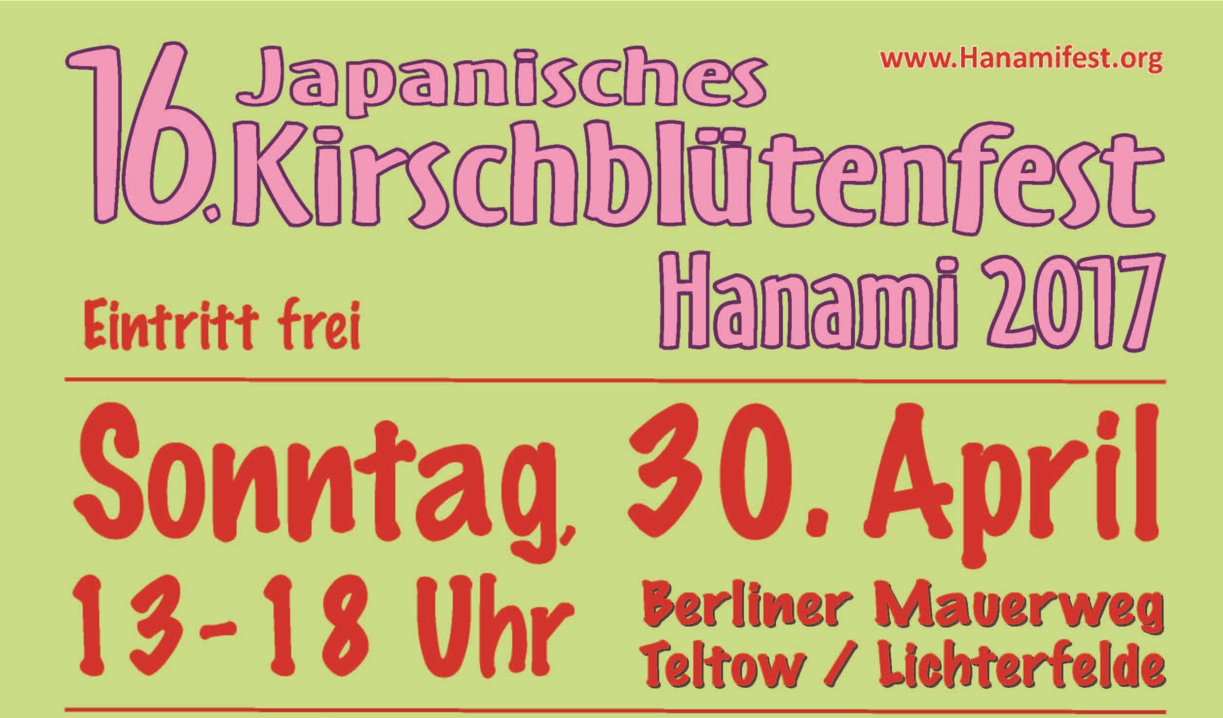 Kirschblütenfest Teltow