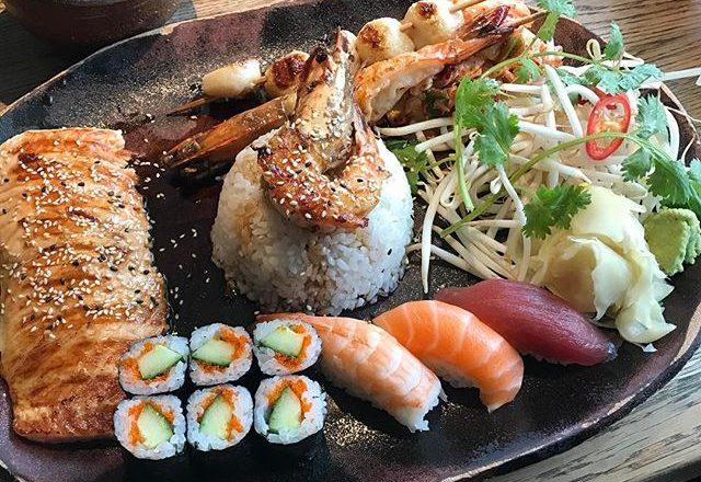 I sushi estremi e la cucina fusion di Kuchi Kant