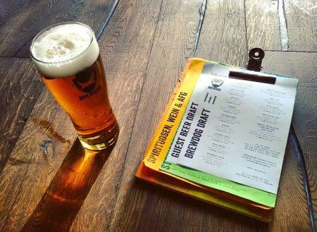 BrewDog pub di Berlino, birra e pizza a go-go
