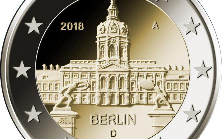 2 euro per il Castello di Charlottenburg