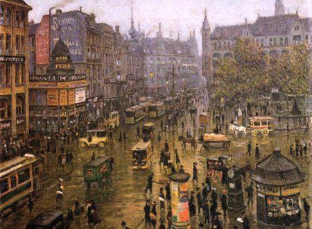 La Berlino di inizio 900 nei dipinti di Paul Hoeniger