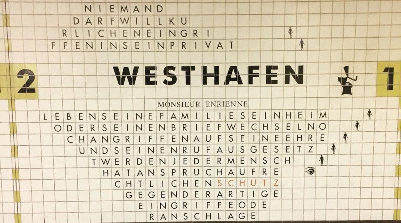 la stazione di westhafen