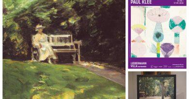 Max Liebermann und Paul Klee - Bilder von Gärten