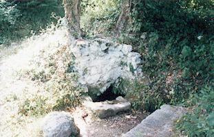 Il percorso delle tre fontane antiche di Vairano Patenora.