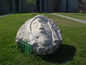 """""""L'arcangelo del Montauro"""" opera dello scultore Ernesto Caiazza di Vairano Patenora (Caserta)"""