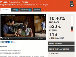 Sosteniamo il Progetto Amazzonia – Xixuaù