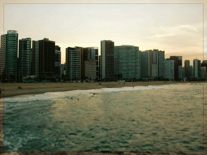 spiaggia urbana a Fortaleza