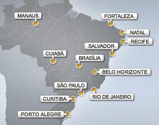 Gioca il Brasile? E' giorno di festa e non si lavora. Elenco dei ben 26 giorni di Festa a Fortaleza nel 2014