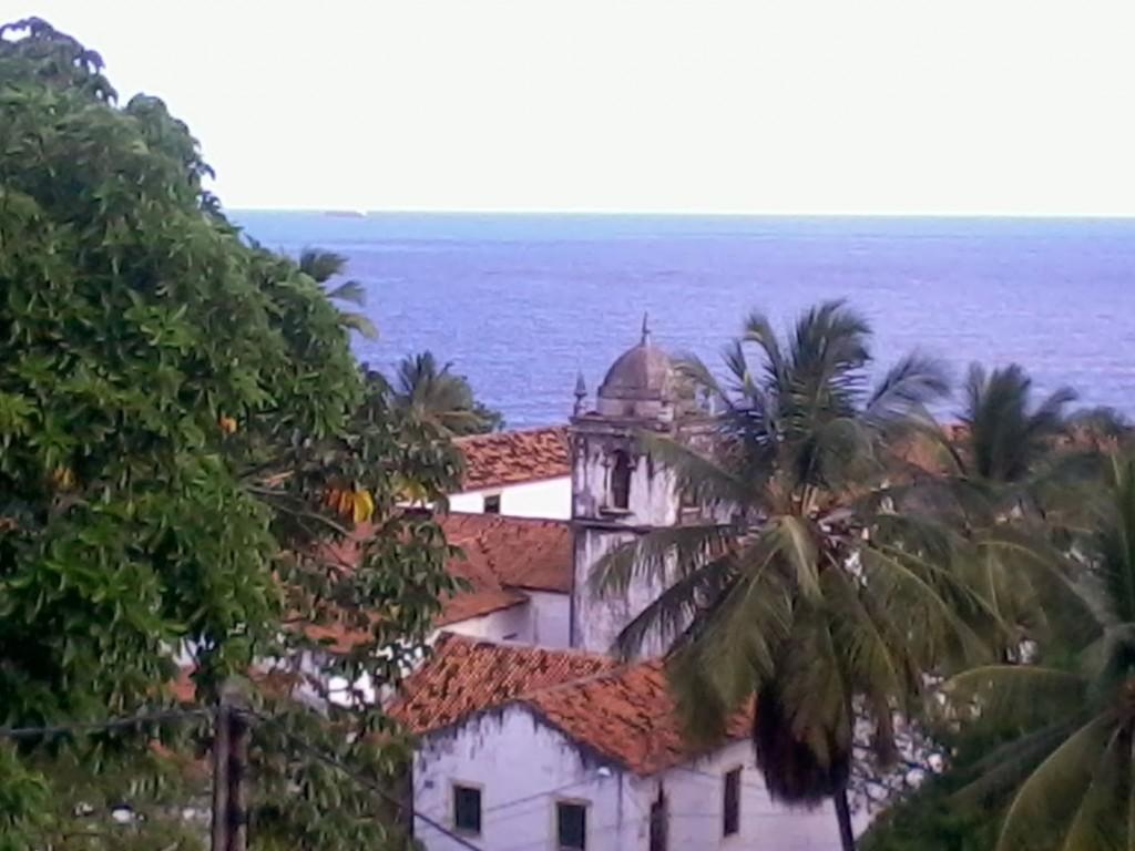 vista del convento dall'alto