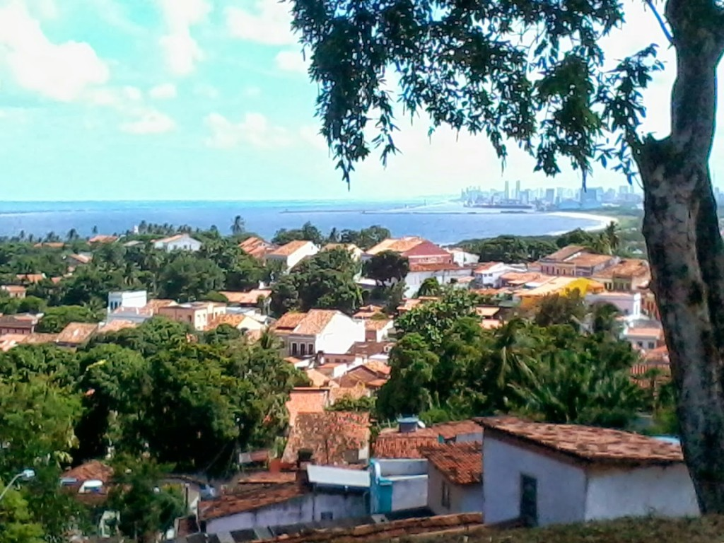 Recife vista da Olinda
