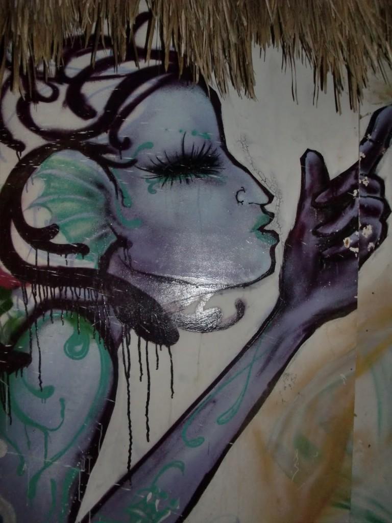 Arte di strada a Canoa Quebrada (2013)