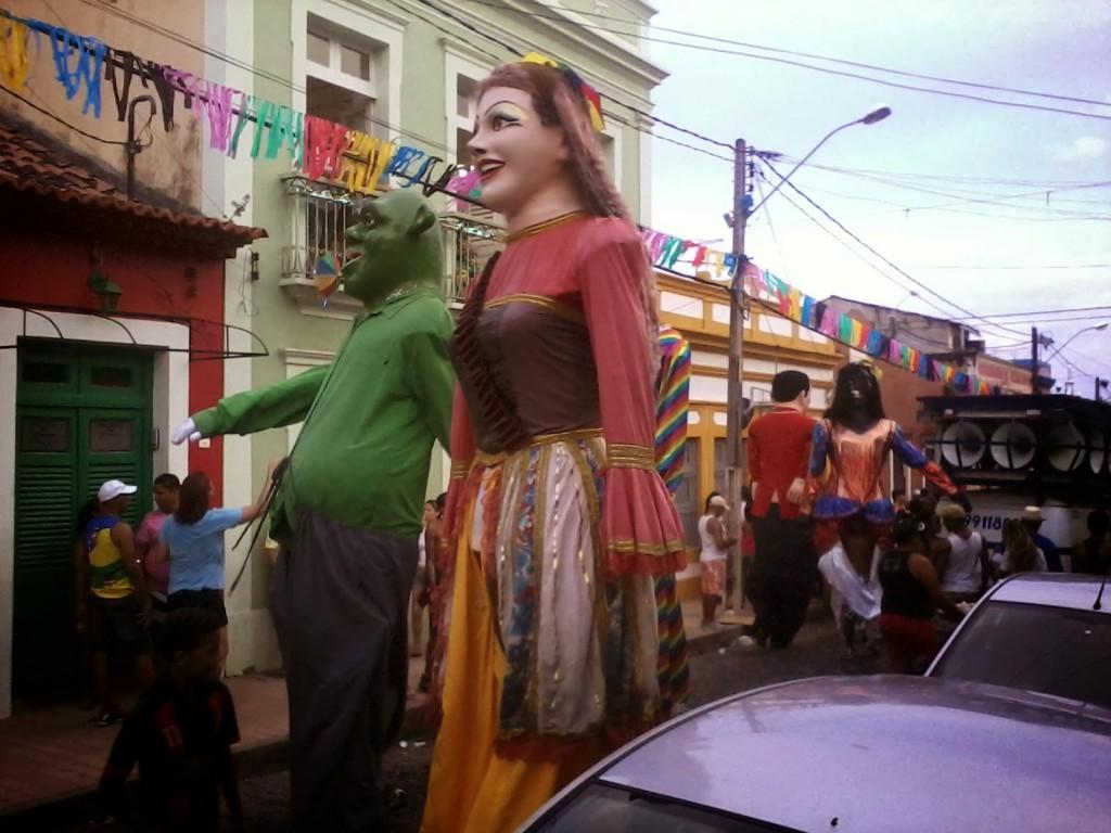 Bonecos per le vie di Olinda - 2014