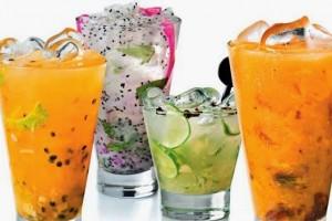 Dal Brasile arrivano le Caipifrutas, i coloratissimi cocktails dell'estate!