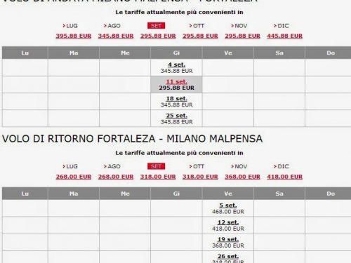 Offerte voli per Fortaleza in autunno: è il momento giusto per comprare!