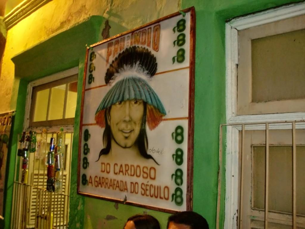 Pau do Indio do Cardoso - l'insegna!
