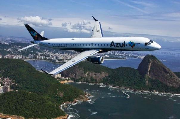 volo per il Brasile