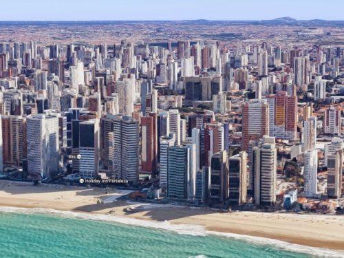 Ora anche Fortaleza è visibile in 3D con Google Maps – LE FOTO