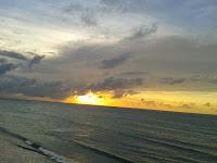 il tramonto a Jeri
