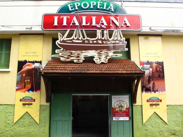il museo sulla storia dell'immigrazione italiana a Bento Goncalves