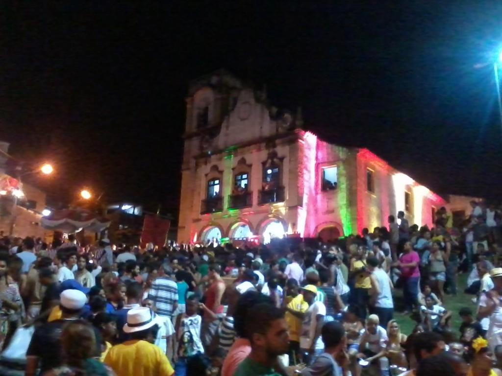 Maracatu a Olinda (2014)