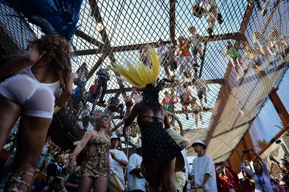 Samba all'Expo di Milano