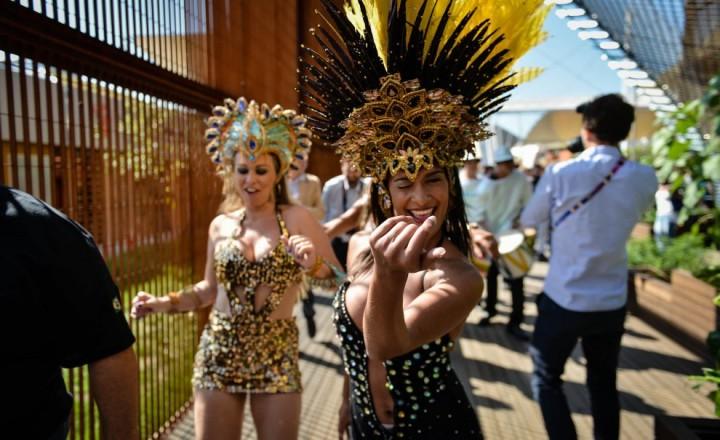 National day del Brasile a Expo Milano