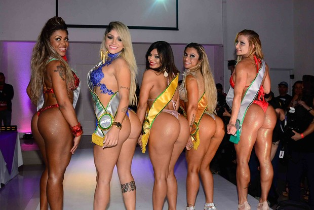 Le concorrenti di Miss Bumbum