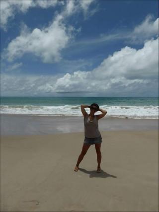 Diana La Globetrotter in Brasile