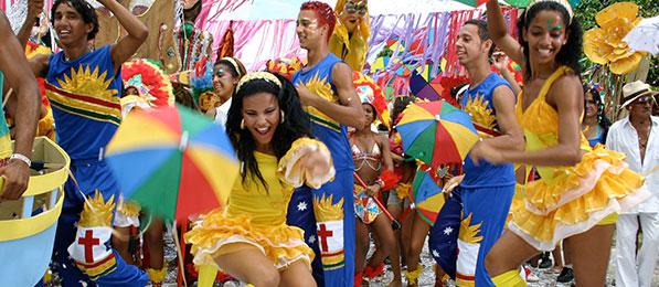 Ballerini di frevo - Carnevale di Recife