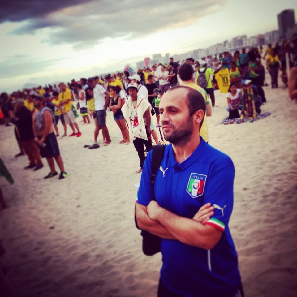 Matteo Gennari a Rio de Janeiro