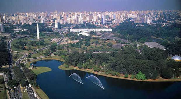 Parco Ibirapuera a San Paolo