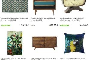 La giungla brasiliana dentro casa con Maisons Du Monde