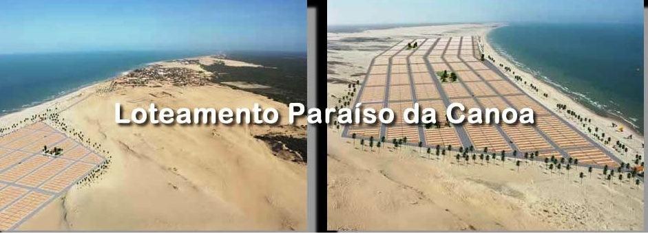 Paraiso da Canoa: lotti edificabili a Canoa Quebrada