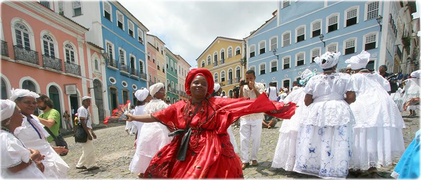 Baianas - Vola a Salvador de Bahia nel 2016