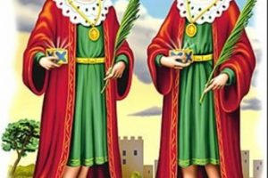 La festa di São Cosme e São Damião
