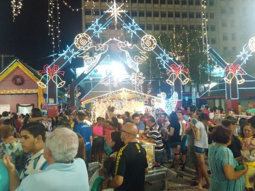Natale a Praça do Ferreira – Fortaleza (Brasile)