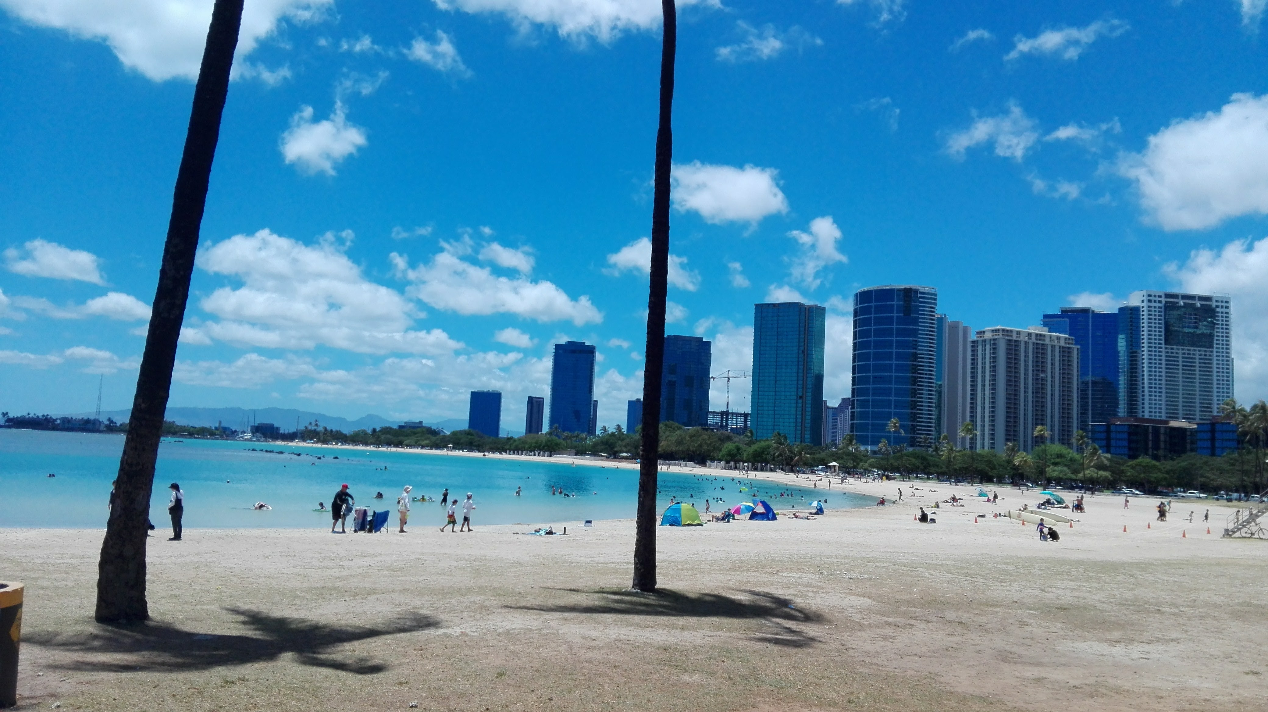 Spiaggia Urbana a Honolulu