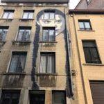 Greta Thunberg diventa un murales, a Bruxelles