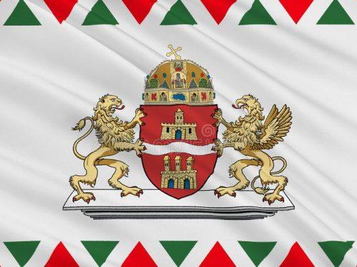 La bandiera di Budapest