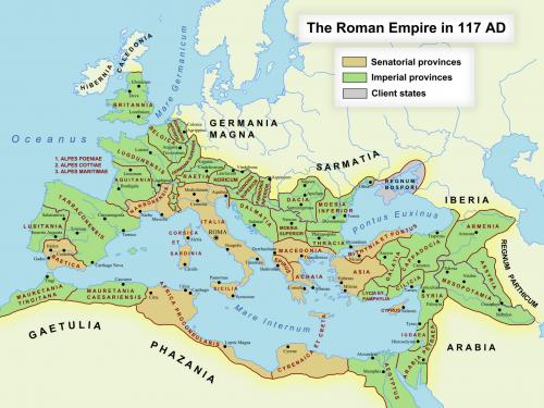 Storia di Budapest – 1 – L'Impero Romano