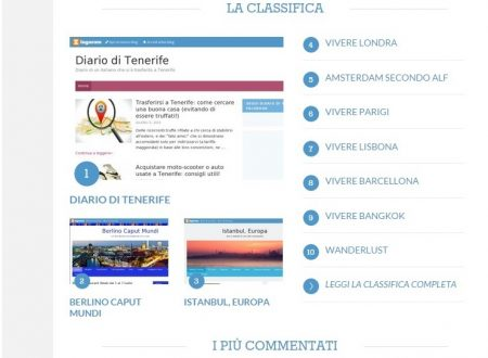 Diario di Tenerife il blog più letto della Community di Zingarate!