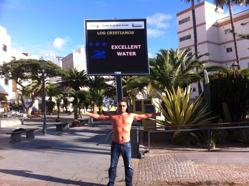 Lambrenedetto a Los Cristianos, Tenerife Sur