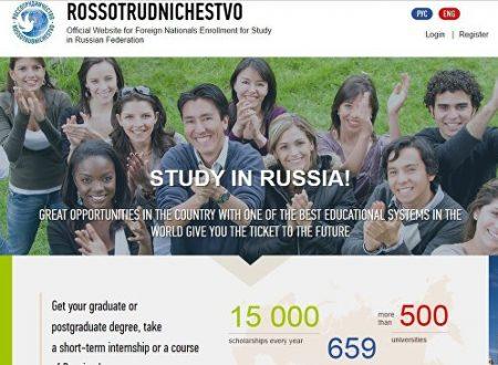 Studiare gratis in Russia: porte aperte a 15.000 studenti stranieri: ecco come!
