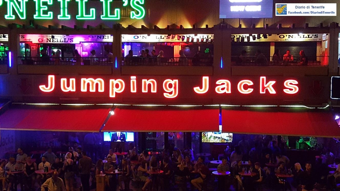 Jimping Jacks Las Americas